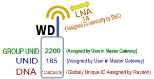 UNID-LNA-DNA